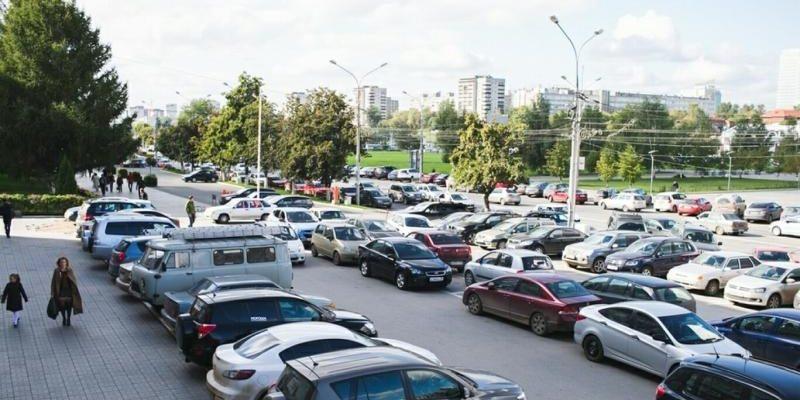 Уличная парковка