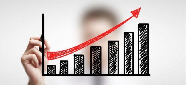 График роста прибыли