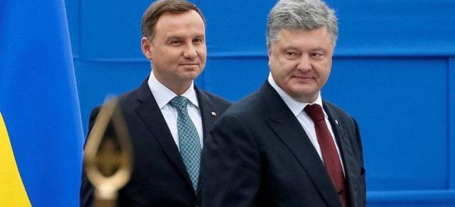 Анджей Дуда и Петр Порошенко