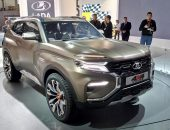 Модель Lada 4x4 2018 года