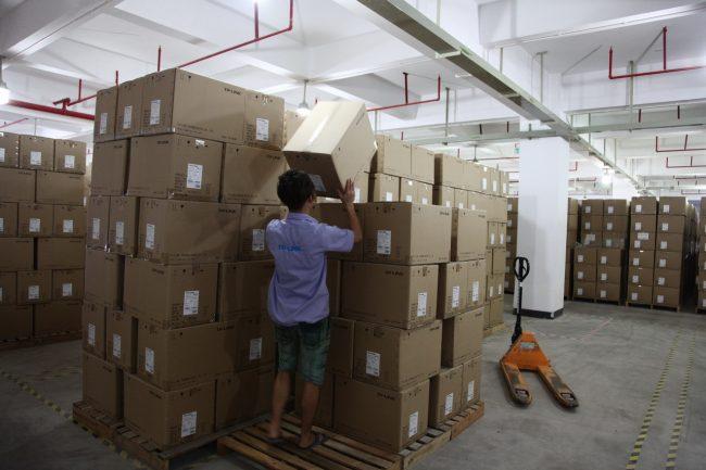 Китайский товар на складе
