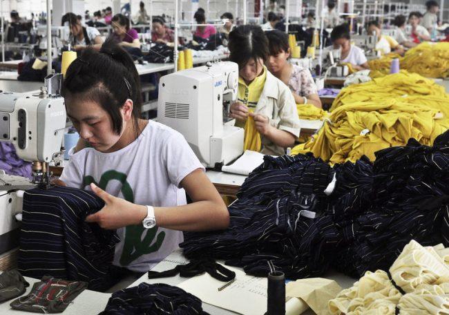 Производство китайской одежды