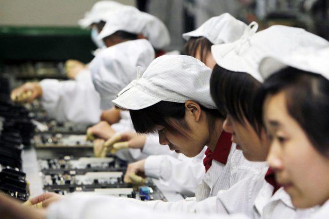 Изготовление телефонов в Китае