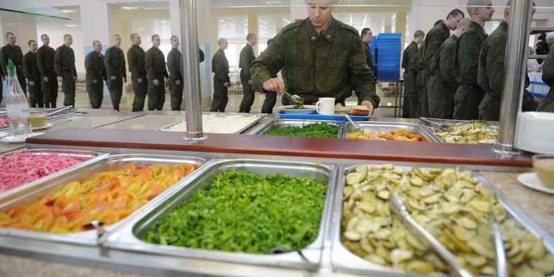 Питание для военнослужащих
