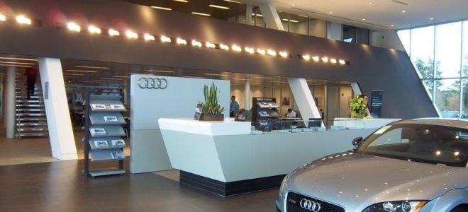Салон по продаже автомобилей Audi