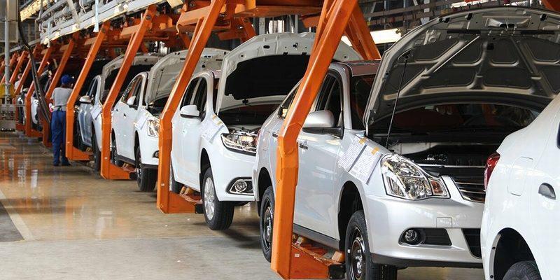 Производство автомобилей ВАЗ