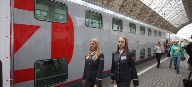 Новые вагоны РЖД