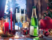 Новогодний стол и подарки