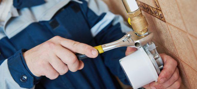 Монтаж газового счетчика