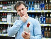 Выбор алкоголя в магазине