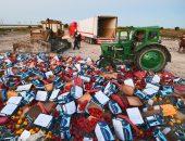 Уничтожение конфискованного контрафакта