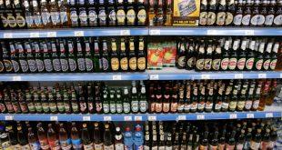 Пиво в магазине