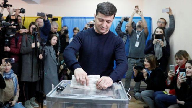 выборы на украине 2019