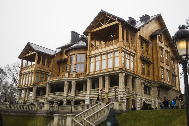 дом петра порошенко фото