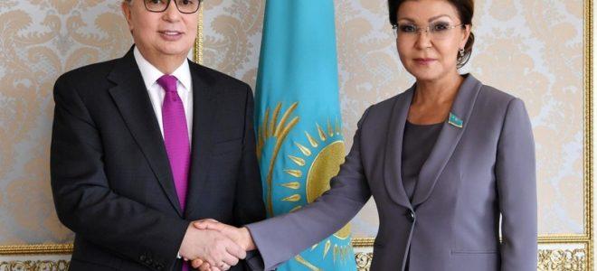 Токаев и Дарига Назарбаева