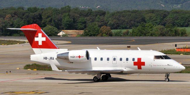 Санитарный самолет