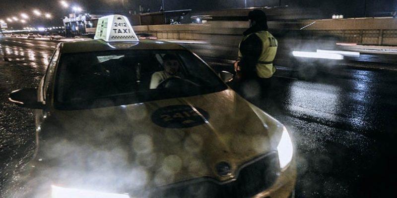 Таксист открыл огонь из пулемета в Подмосковье