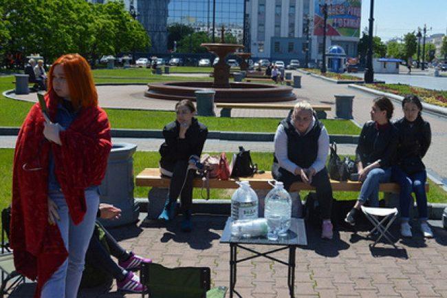 Российские детдомовцы объявили голодовку