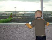 с ребенком в аэропорту