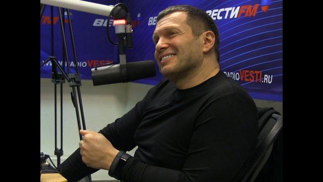 Владимир Соловьёв в радиоэфире