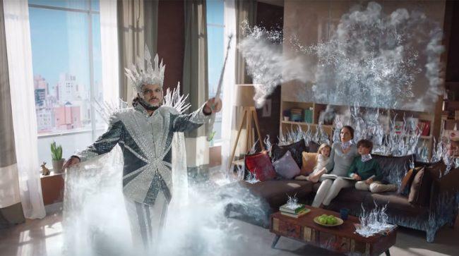 Киркоров в рекламе Гексорала