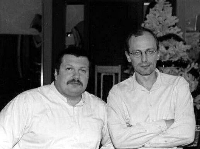 Владимир Соловьёв и Александр Гордон