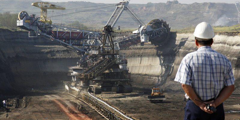 добыче полезных ископаемых