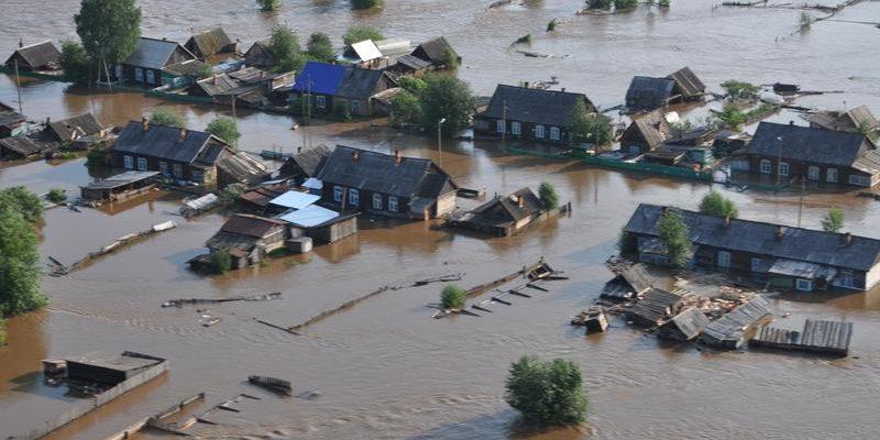 В зоне наводнения в Приамурье