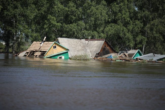 Иркутской области наводнения
