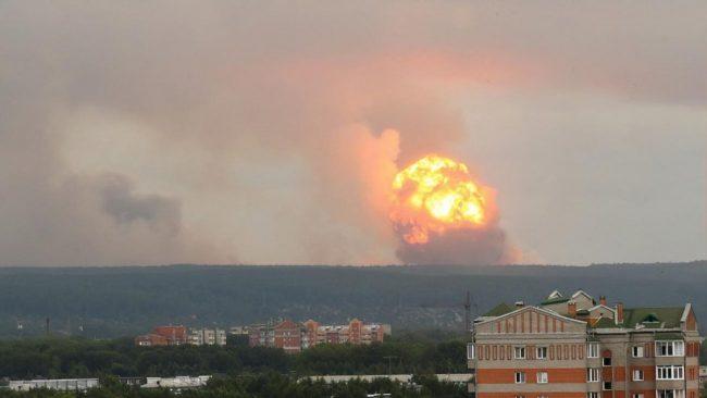 Названо новое число пострадавших от взрывов боеприпасов под Красноярском