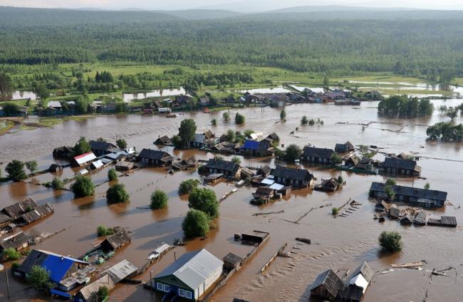 Сибирские реки вышли из берегов