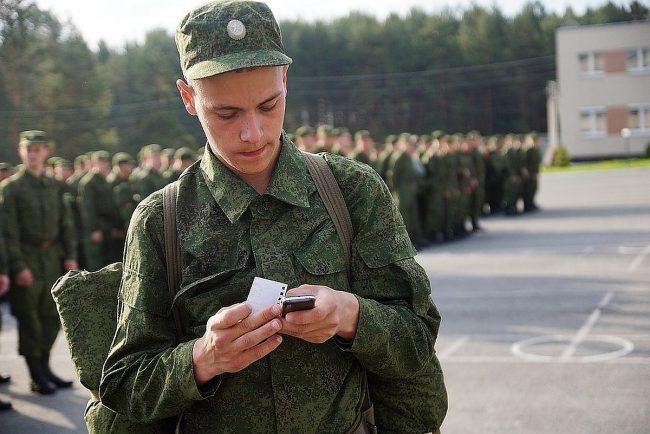 В российской армии появится сотовая связь
