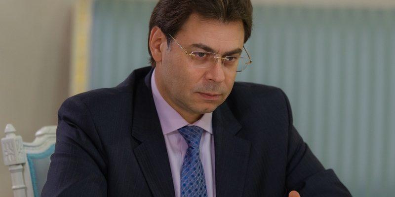 вице-мэром Москвы Александром Горбенко