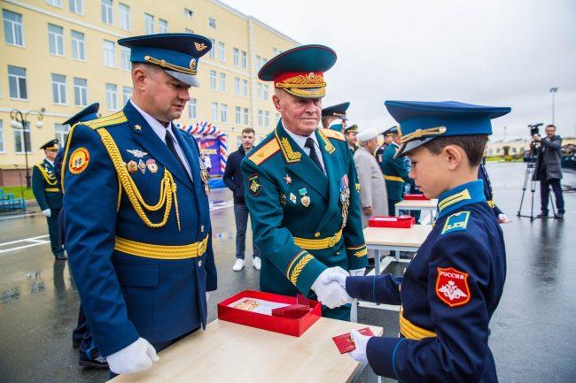 Кадеты президентского кадетского училища