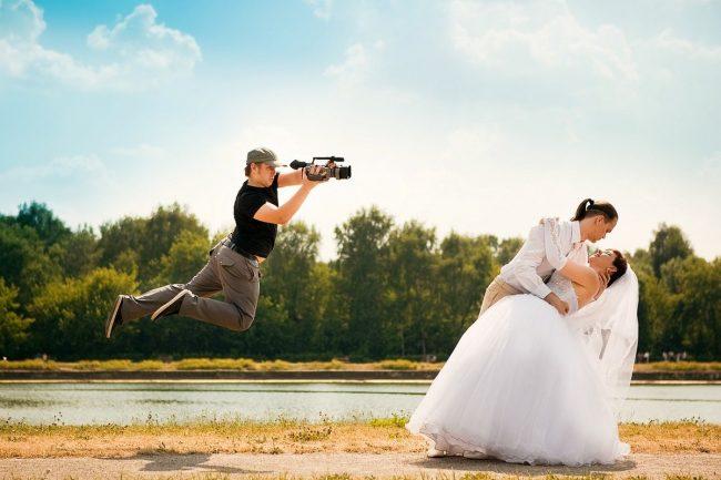 съёмка свадебного видео