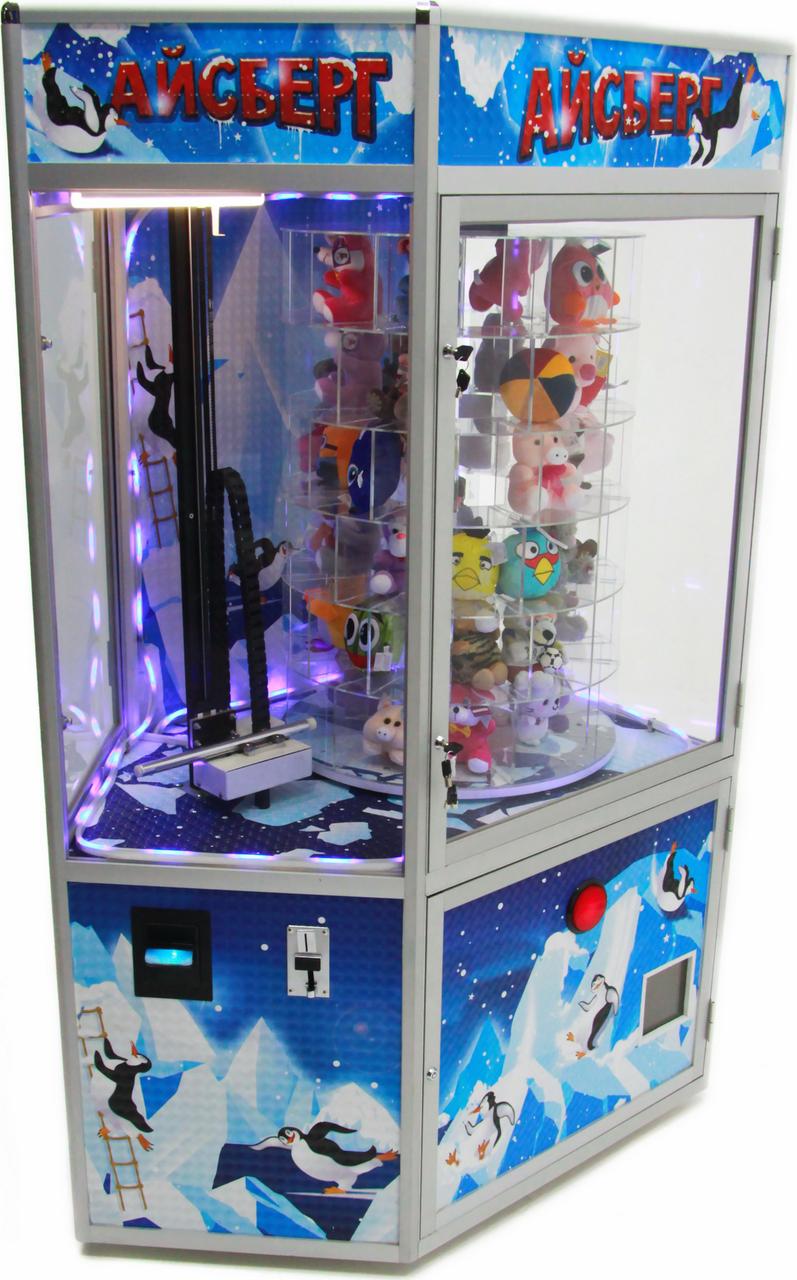 Игровые автоматы с призами, кран-машины